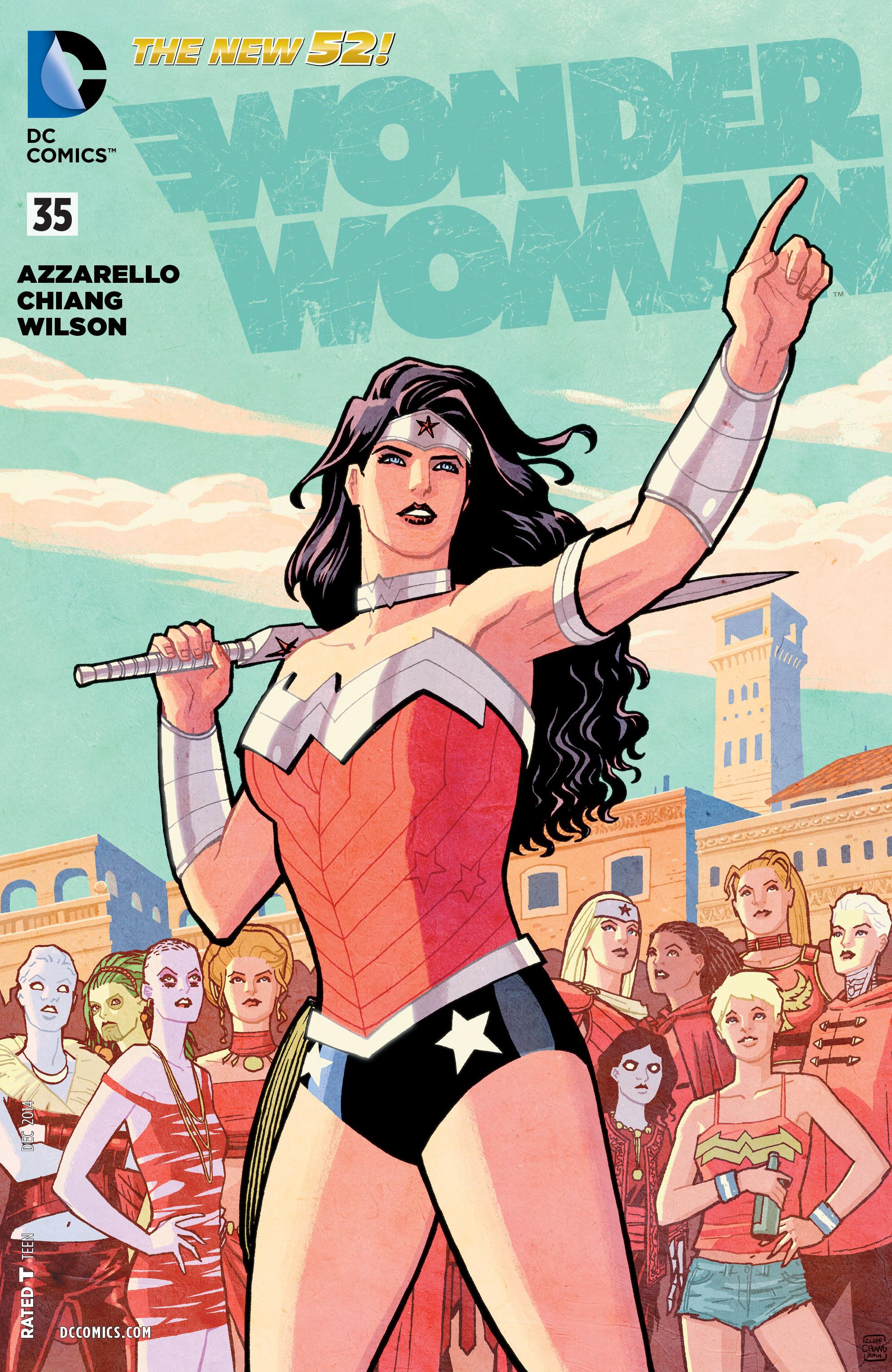 Read online Wonder Woman (2011) comic -  Issue #35 - 1