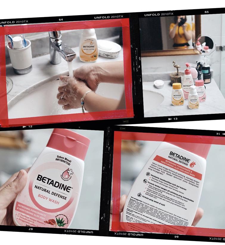 Betadine Natural Defensi Sabun Anti Bakteri