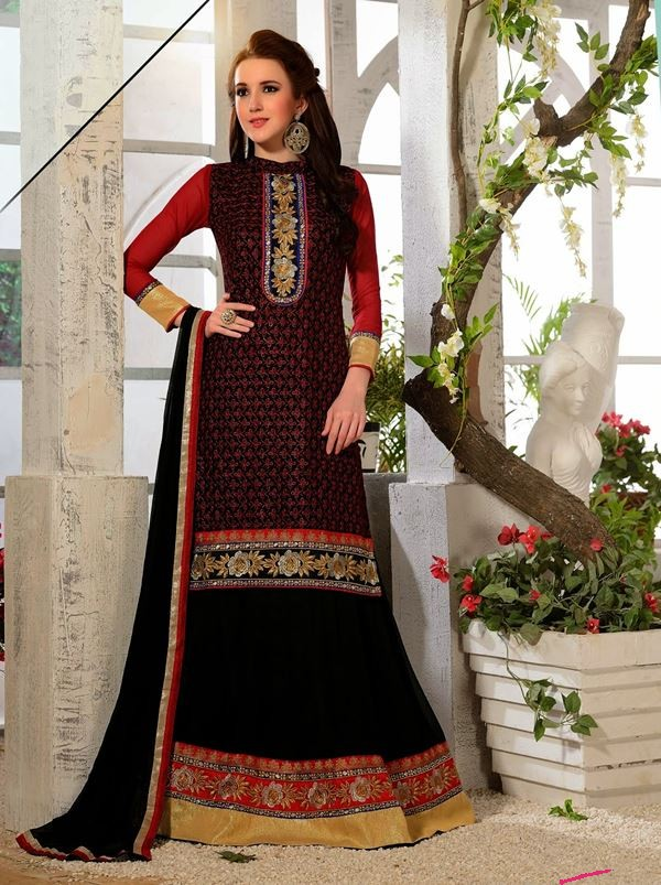 f35bb8bf16d The dupatta is generally tucked on one side of the lehenga and can be  dropped across the shoulder or taken over the head in a traditional manner.