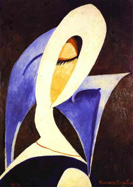 Solitary Dog Sculptor I: Painter: Picabia Francis - Part