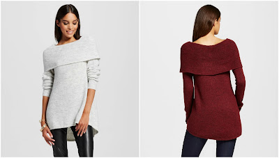 Mossimo Off the Shoulder Sweater $28