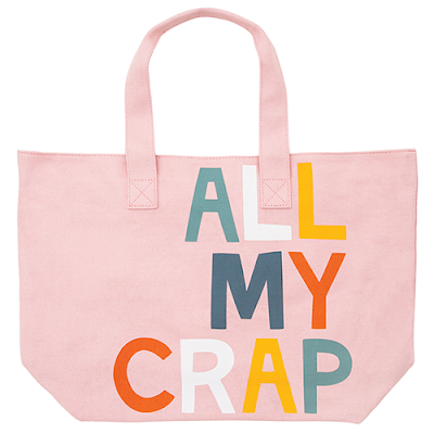 All My Crap Tote by Castle