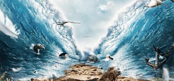 Hasil gambar untuk ilustrasi air terbelah 2