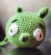 Patrón llavero amigurumi Angry Birds rojo | Llaveros crochet ... | 185x172
