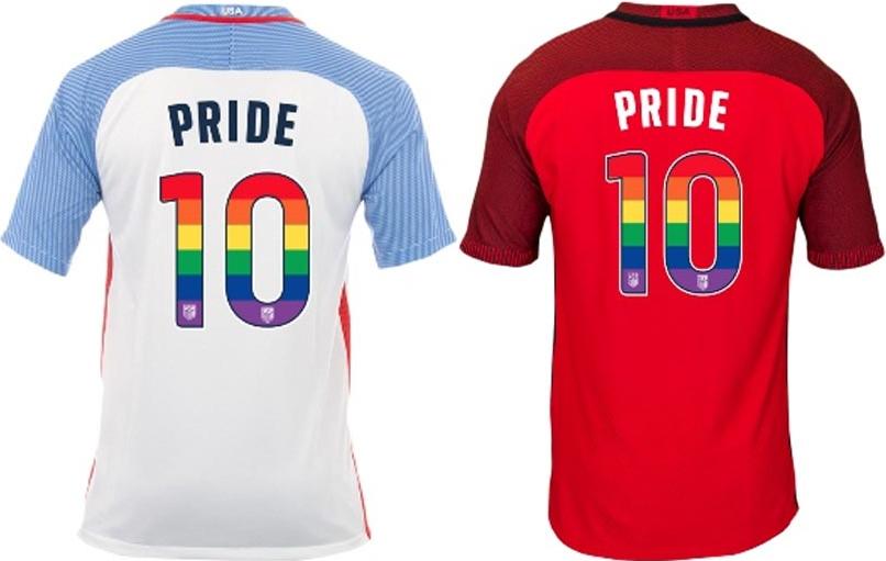 9273e4fa64 Estados Unidos usarão camisas em homenagem ao mês do orgulho LGBT