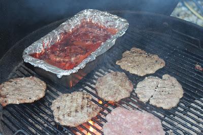 IMG 7301 - Marinated Pork Burgers
