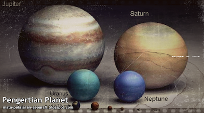Pengertian Planet, Planet Luar, Planet Dalam, Apa itu Planet, Definisi Planet,