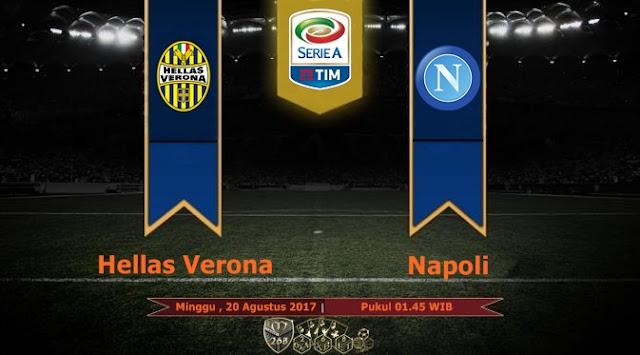 Prediksi Bola : Hellas Verona Vs Napoli , Minggu 20 Agustus 2017 Pukul 01.45 WIB