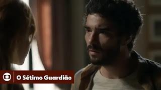 O Sétimo Guardião: capítulo 128 da Novela - 09/04/2019