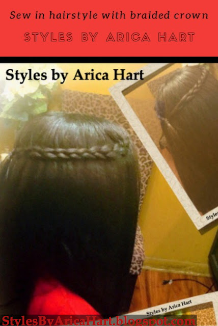 Weave, sew in, hairstyles for women