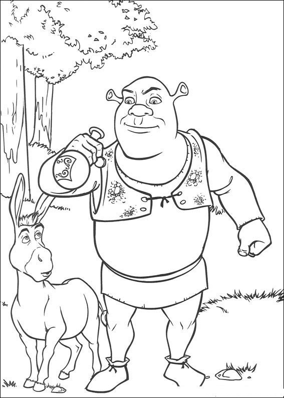 Shrek Painting Designs ~ Child Coloring