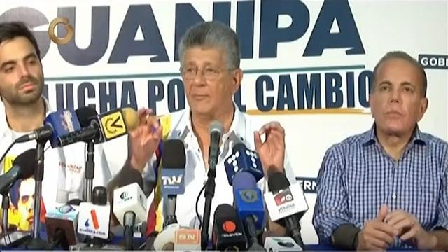 Ramos Allup: Hay que encarar el discurso abstencionista porque favorece al Gobierno (Vídeo)