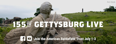 155th Gettysburg Live: Join Us Online July 1-3