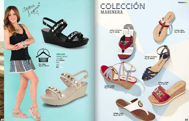 zapatos y calzados terra