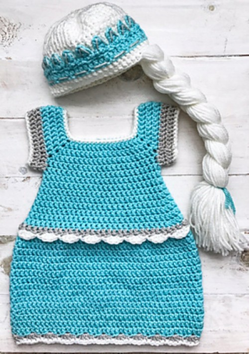 Elsa Dress - Free Crochet Pattern