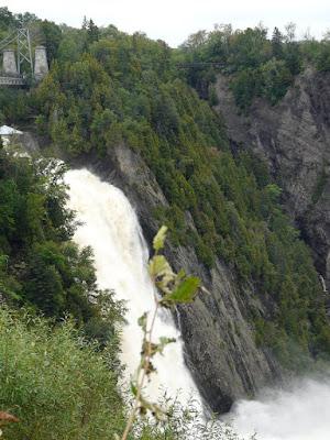 La chute de Montmorency Canada