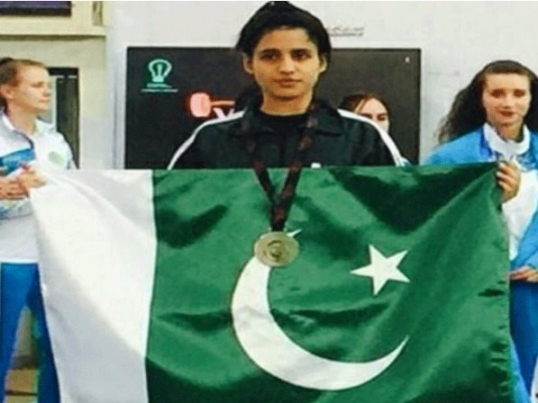 The Pakistani wait lighter won the Gold Medal in Australia