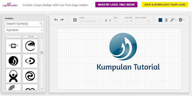 15+ Situs Tempat Membuat Logo Online Gratis ( Online Logo Maker )