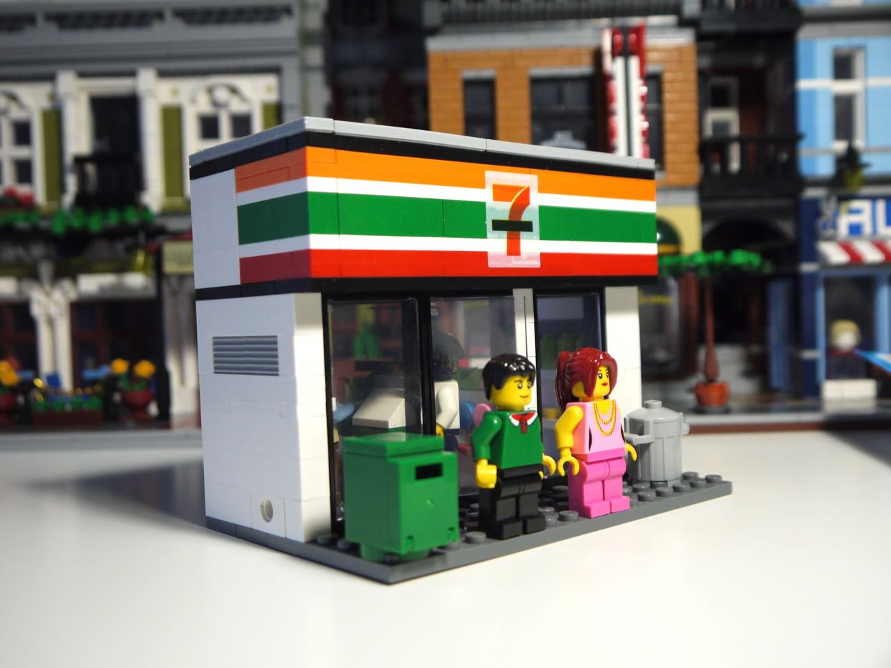 Convenience Store Construction : It s not lego hsanhe seven convenience store