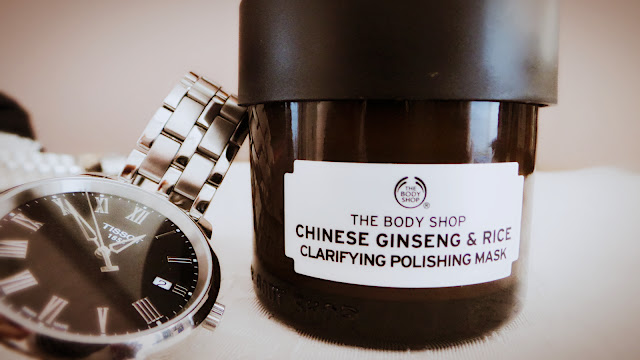 The Body Shop - Chinese Ginseng and Rice clarifying Face mask