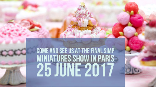 We will be at the SIMP miniatures show in Paris on 25 June 2017