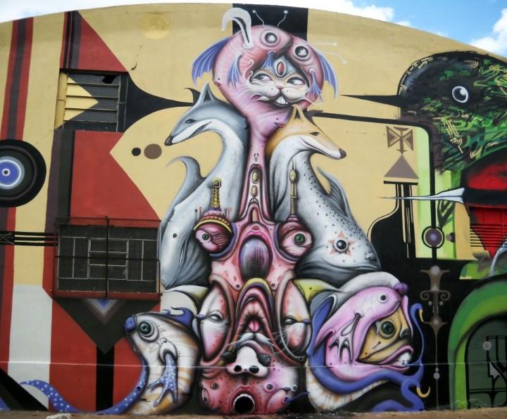 Andre Muniz Gonzaga. Street Art художник 11
