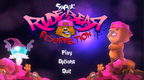 SUPER RUDE BEAR RESURRECTION-PLAZA
