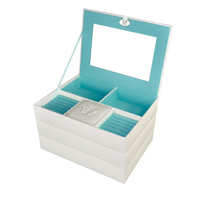 Shop Nile Corp Wholesale Stackable White Leatherette Jewelry Boxes