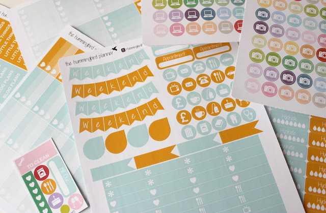 A picture of HummingbirdPlanner Life Planner Stickers
