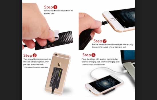 iPhone Wireless Charging Receiver