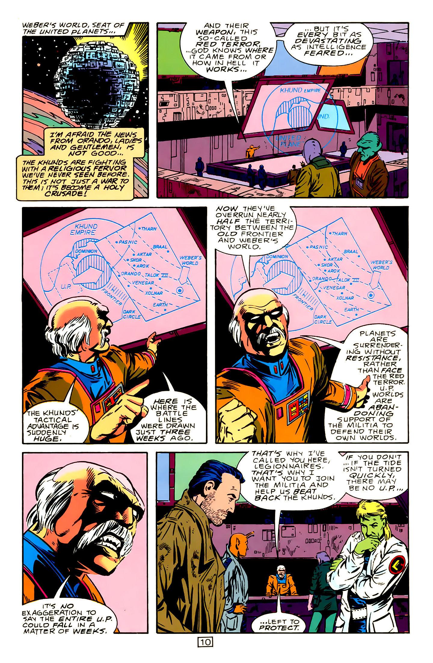 Legion of Super-Heroes (1989) 15 Page 10