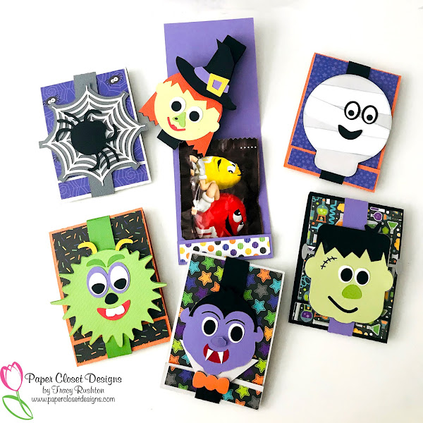 Halloween Matchbook Treats