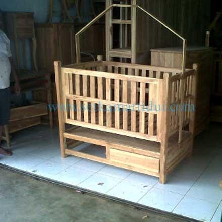 model tempat tidur anak ukir jepara 4