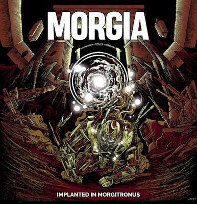 Review Album : Morgia - Implanted In Morgitronus
