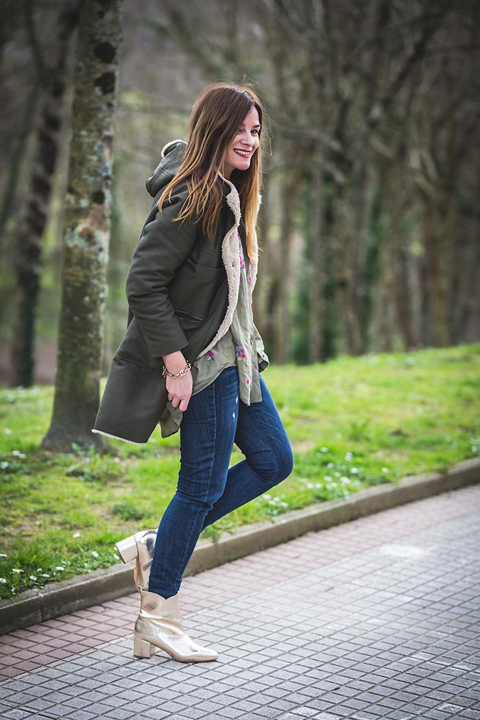 Es cuestión de estilo, personal shopper, Lucía Díez, Parka verde milita