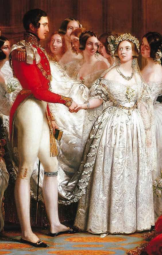 rubiesstar: ¿ cuál es el origen del vestido de novia color blanco?