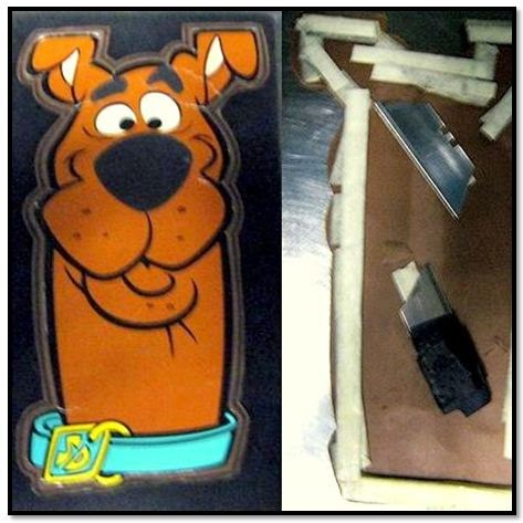 Razorblades were discovered concealed in a greeting card at Newport News/Williamsburg International Airport (PHF).