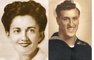 Greta Zimmer y George Mendonsa en los años cuarenta.
