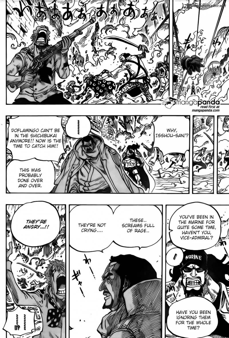 One Piece Ch 747: Top Executive Pica