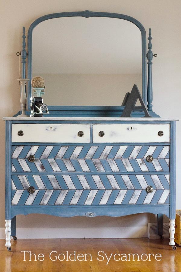 Herringbone Dresser from The Golden Sycamore