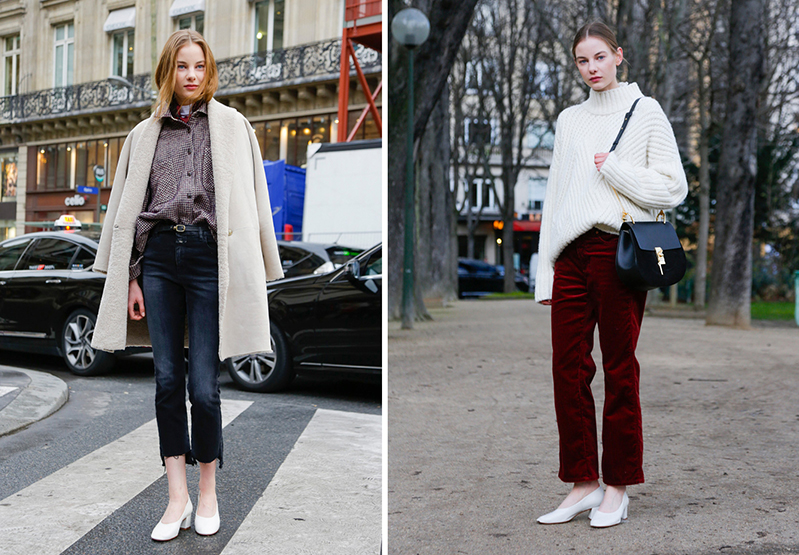 how-to-wear-white-shoes-at-paris-milan-newyork-london-fashion-week-fal-winter-2016-trend-granny-shoes-