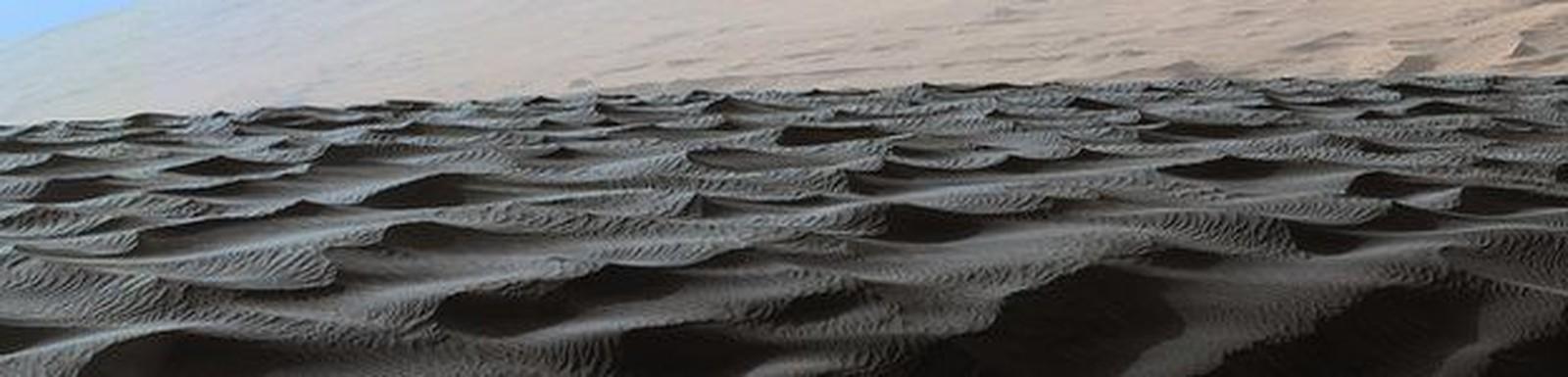 Dunas em Marte segundo a NASA