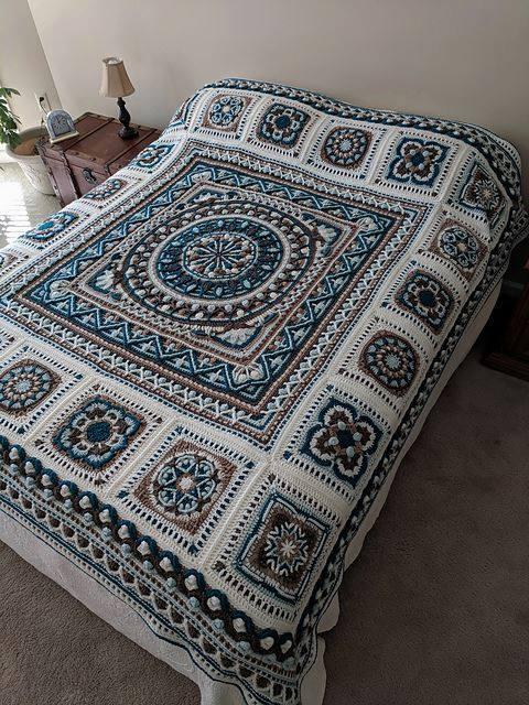 Winter Blanket Crochet