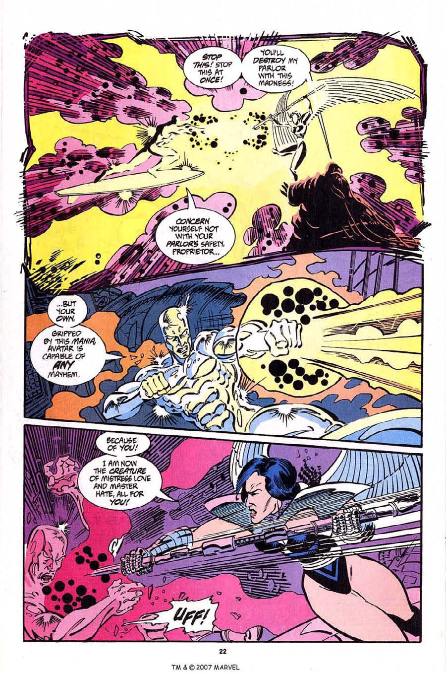 Read online Silver Surfer (1987) comic -  Issue #92 - 24