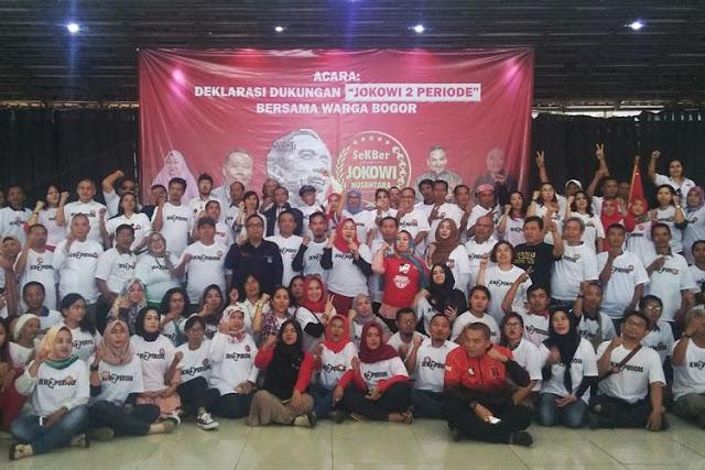 Sekber Jokowi Nusantara Deklarasi 4 Agustus 2018