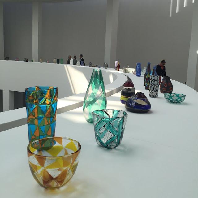 MURANO. MILANO.VENEZIA. GLAS, Ausstellung in der Pinakothek der Moderne