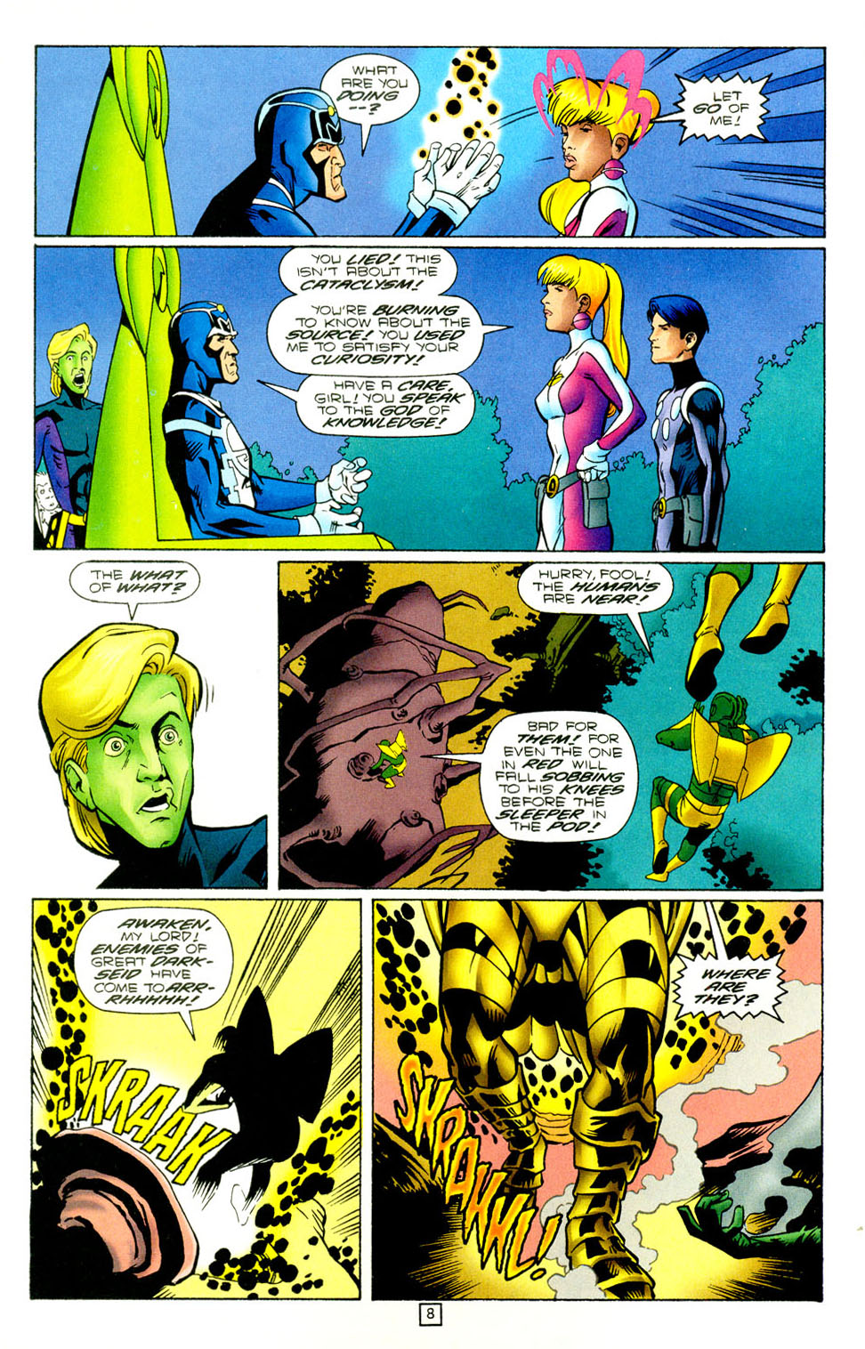 Legion of Super-Heroes (1989) 97 Page 7