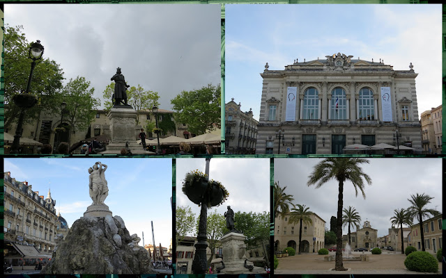 Town and city squares/plazas in Languedoc, France