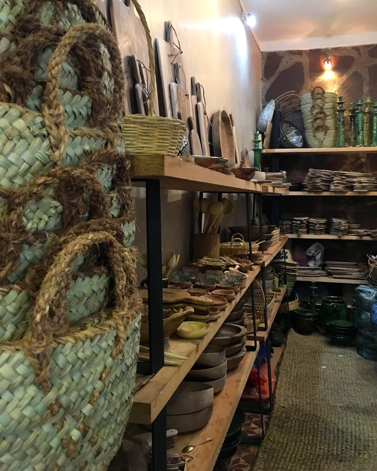cool designer shoppping Marrakech