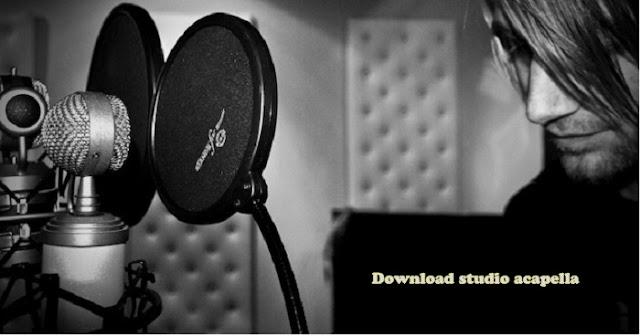 Acapella studio bahan remix lagu, download disini